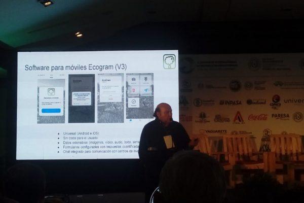 Presentación de la Red Ecogram (CYTED) en el CISSP de Asunción, Paraguay