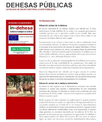 Dehesas Públicas. Catálogo de iniciativas para la sostenibilidad